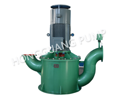 WFB self-priming pump without seal